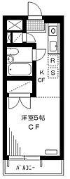 パレット東石神井[3階]の間取り