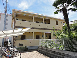 大阪府茨木市末広町の賃貸アパートの外観