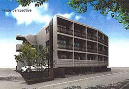 神奈川県秦野市南矢名3丁目の賃貸マンションの外観