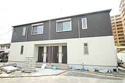 広島県広島市佐伯区五日市中央6丁目の賃貸アパートの外観