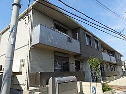 大阪府東大阪市稲田本町1丁目の賃貸アパートの外観