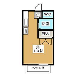 小川ハイツC棟[2階]の間取り