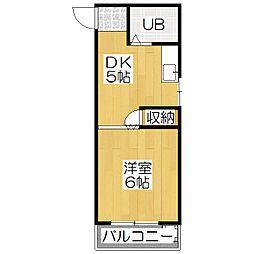 千成ビル[3階]の間取り