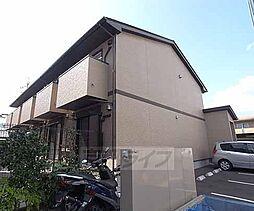 京都府京都市右京区常盤村ノ内町の賃貸アパートの外観