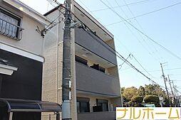 大阪府大阪市平野区加美正覚寺2丁目の賃貸アパートの外観