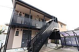 新潟県新潟市中央区学校町通3番町の賃貸アパートの外観