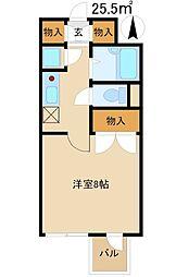 石井マンション[608号室]の間取り