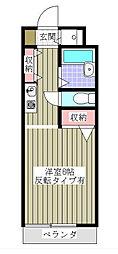 千葉県船橋市習志野台2丁目の賃貸アパートの間取り