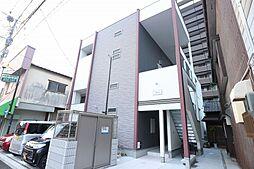 福岡県古賀市天神1丁目の賃貸アパートの外観
