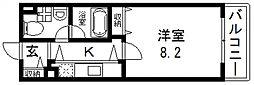 セレブ上小阪[305号室号室]の間取り