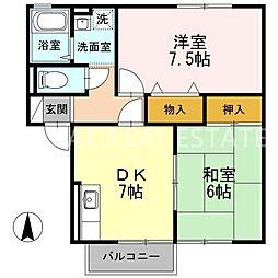 スイートハウス1[105号室]の間取り