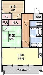 フローラみずほ[203号室号室]の間取り