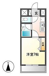 アレンダール大須[10階]の間取り