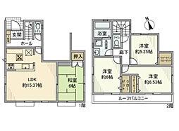 [一戸建] 埼玉県さいたま市南区大字大谷口 の賃貸【/】の間取り
