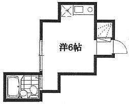 ファブール滝野川[1階]の間取り