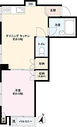ミドリヤサニーマンション[302号室]の間取り