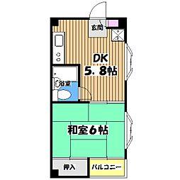 エトアールぴあ・II[1階]の間取り