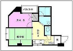 アベニューNAGAKI[302 号室号室]の間取り