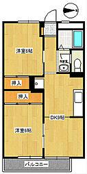 第2ラフィーネ[2階]の間取り