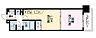 間取り,1LDK,面積32.87m2,賃料8.9万円,JR大阪環状線 天満駅 徒歩8分,Osaka Metro堺筋線 扇町駅 徒歩6分,大阪府大阪市北区同心2丁目