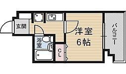 エスリード新大阪第3[4階]の間取り