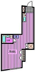 冠木ビル[3階]の間取り