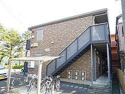 静岡県浜松市中区和地山3丁目の賃貸アパートの外観