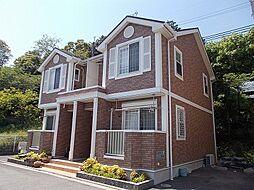 大阪府茨木市安威3丁目の賃貸アパートの外観