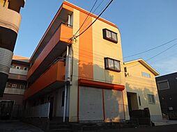 埼玉県吉川市高富2丁目の賃貸マンションの外観