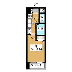 エイペックス京都新京極I[7階]の間取り
