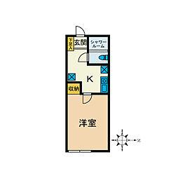 La Curacion[2階]の間取り