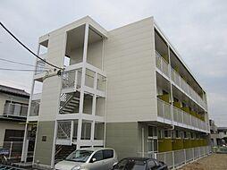神奈川県海老名市中新田3丁目の賃貸マンションの外観