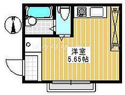 キャトル大泉学園3番館[0102号室]の間取り