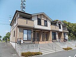 鹿児島県鹿児島市本名町の賃貸アパートの外観