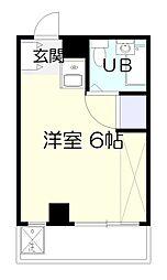 ブックスマンション南生田[3階]の間取り