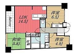 APAガーデンパレス成田[5階]の間取り