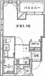 (仮称)上池袋1丁目マンション 6階1Kの間取り