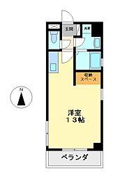 プリマベーラ名駅[8階]の間取り