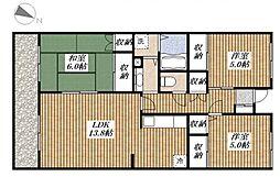 プリマヴェーラ[2階]の間取り
