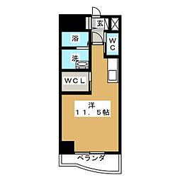 フラワーパーク[7階]の間取り