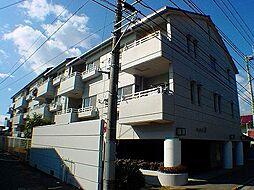 茨城県つくば市花畑1丁目の賃貸マンションの外観