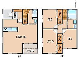[一戸建] 和歌山県和歌山市中之島 の賃貸【和歌山県 / 和歌山市】の間取り
