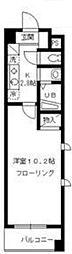 東京都板橋区中台1丁目の賃貸マンションの間取り