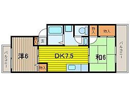 ヤマハハイツ浦和[2階]の間取り