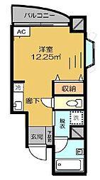 メゾン東尾久[4階]の間取り