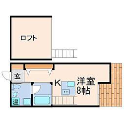 C4甲子園east[2階]の間取り