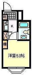 富士昭和ビル3[5階]の間取り