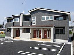栃木県真岡市荒町の賃貸アパートの外観