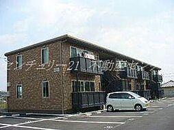 岡山県倉敷市玉島阿賀崎4丁目の賃貸アパートの外観