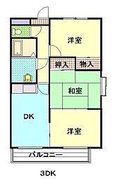 Villakooyama[201号室]の間取り